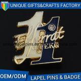 Relaible China fábrica insignia aceptar tarjetas de metal OEM