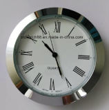 Pieza inserta 60m m de plata del reloj del metal de la aduana 43m m para el regalo de la promoción