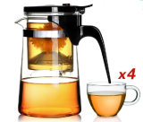 AA Glassware/Tea Pot mit Handle/Filler Pot/Tea Set