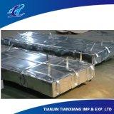 明白な波形の金属の屋根ふきシート