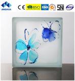 Jinghua artístico de alta calidad P-047 de la pintura de ladrillo y bloque de vidrio