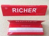 Aduana 1 1/4 papel 100% de balanceo del cáñamo de la talla para fumar con el FDA para nosotros