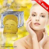 24K Nano masque en or de collagène Antirides Masque Masque Masque Gel hydratant de serrage élevé masque d'or anti de vieillissement enlever les fines Salon Parafoudre de ligne de cosmétiques