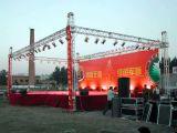 Алюминиевая ферменная конструкция крыши выставки освещения Spigot