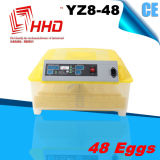Sale caldo Automatic Chicken Egg Incubator da vendere Yz8-48