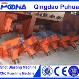 La macchina di brillamento dell'abrasivo della rotella di turbine di granigliatura del Ce/cinghia/dirige/macchina guidata di granigliatura