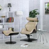 Verrouillable pliées Wood Board Eames Chaise de Salon avec marche pied