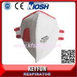 Mascherina di polvere polverizzata del fronte del respiratore del popolare del Ce En149 Fffp2 Ffp3 Niosh N95