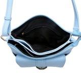 파란 PU 여자 어깨 핸드백 십자가 시체운반용 부대 (MBNO041097)