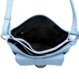 Blue Vertical Shape Woman Shoulder Handbag Fashion Design (MBNO041097)