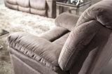 Sofà del salone con il sofà moderno del cuoio genuino impostato (898)
