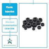 La machine en plastique de moulage personnalisée de produits injection en plastique partie des noix de couvercle à visser de dispositif de fixation