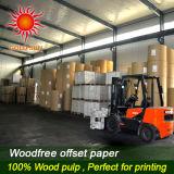 Papier décalé étanche haute qualité pour impression offset
