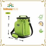 Polyester Material Round Cooler Bags, Round Cooler Shoulder Bags