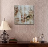Peinture à l'huile décorative abstraite sur toile
