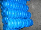 9 anos de fábrica alguma roda lisa 4.00-8 do plutônio do trole da carta branca da espuma do plutônio da polegada