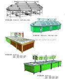 De Plank van de Supermarkt van de groente en van het Fruit met de Normen van Ce