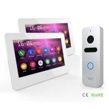 Seguridad doméstica de la pantalla táctil de 7 pulgadas de interfonía Video Doorphone