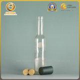 Flint/Clear 200ml pequena garrafa de vinho de vidro de Bordéus (387)
