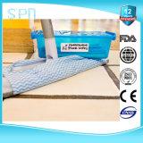 Wipes di legno a gettare di pulizia del pavimento di Spunlace