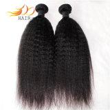 使用できるねじれたまっすぐなブラジルのバージンの人間の毛髪の織り方のサンプル