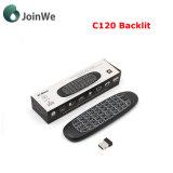 Освещенный контржурным светом C120 миниый беспроволочный регулятор Remote клавиатуры