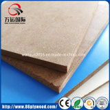 Placa impermeável do MDF do verde de madeira HDF da fibra