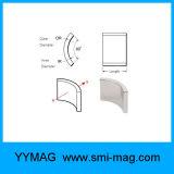 De aangepaste Permanente Magneet van het Segment van de Magneet van het Neodymium van de Boog voor Generator