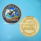 Zink-Legierungs-weiche Decklack-Münze für Förderung
