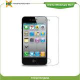 Протектор экрана Tempered стекла мобильного телефона на iPhone 4 4s