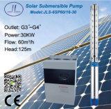 6em 30kw 40HP Solar Centrífuga Submersíveis Bomba de Água