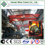 Metalurgia o Casting Overhead Crane para Steel Rolling Mill