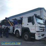 Sinotrok HOWO 371HP 8*4 12 roues LHD Rhd 50 tonnes de la route du véhicule de sauvetage d'urgence Rotator dépanneuse rotatif Chariot de remorquage