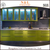 N&L 2017の高レベル現代木製の台所家具