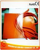 24V 300W 300*320*1.5mm de Elektrische Geëtstee Verwarmer van het Silicone Rubber