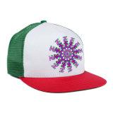 カスタム白い王冠の帽子および帽子は急な回復のトラック運転手の帽子を印刷した