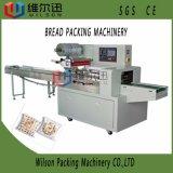 Máquina de empacotamento automática do descanso do alimento do pão do pequeno almoço pelo controle do PLC