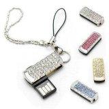 Mini mecanismo impulsor del flash del USB de la joyería para el regalo promocional