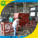 Doppia trinciatrice dell'asta cilindrica per l'immondizia vivere/dei rifiuti solidi/sacchetti di plastica/di legno di /Tire/Metal/Foam/Mattress/Woven