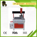 Carpintería que hace publicidad de la máquina de grabado del CNC