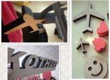 A maioria de tipo da máquina de Famouse para o plástico de madeira acrílico do corte
