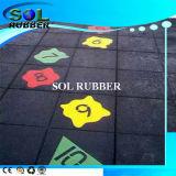 EN1177 Certificado de alta calidad de juegos de goma alfombra del piso