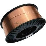 非銅の上塗を施してある固体溶接ワイヤ