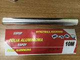 Rouleaux d'aluminium de ménage pour le supermarché