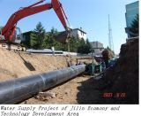 Pijp de Van uitstekende kwaliteit van de Watervoorziening PE100 van Dn200 Pn0.6
