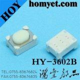 3.2*4.2*2.5mm 둥근 손잡이 (HY-3602B)를 가진 고품질 재치 스위치