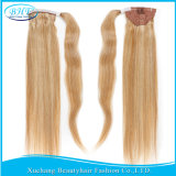 "Virgin Natural Human Hair Ponytail Extension 18 "" 22 "" Real Hair Hairpiece per le donne di colore Hair brasiliano Clip Ponytail 60g/Set"