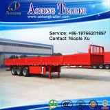 Wall laterale Open 3 Axles 45t Flatbed Special Vehicle Semi Trailer Truck (LAT9403)