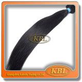 Волосы девственницы черноты двигателя двойного слоя бразильские