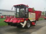 Tanque de grano grande para la maquinaria de cosecha de maíz